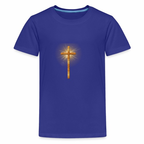 Cross of Light - Kids' Premium T-Shirt