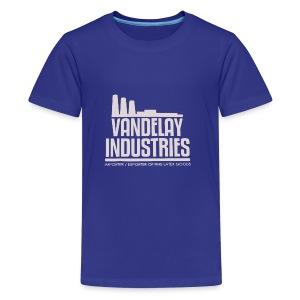VANDELAY logo - Kids' Premium T-Shirt
