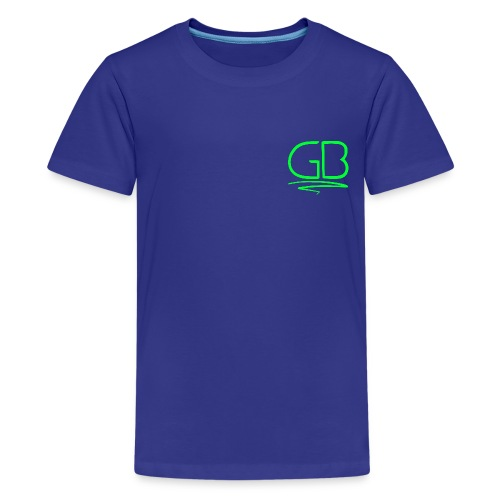 Green GB logo - Kids' Premium T-Shirt