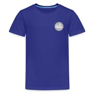 The Path Circle Logo In Gray - Kids' Premium T-Shirt