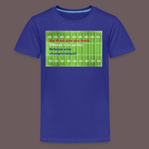 Football Championship Shirt - Kids' Premium T-Shirt