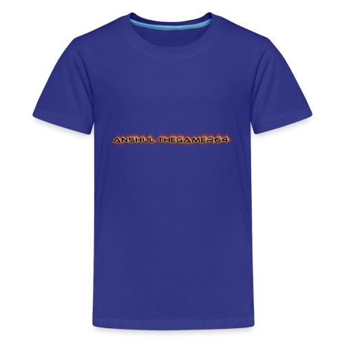 ANSHUL THEGAMER64 - Kids' Premium T-Shirt