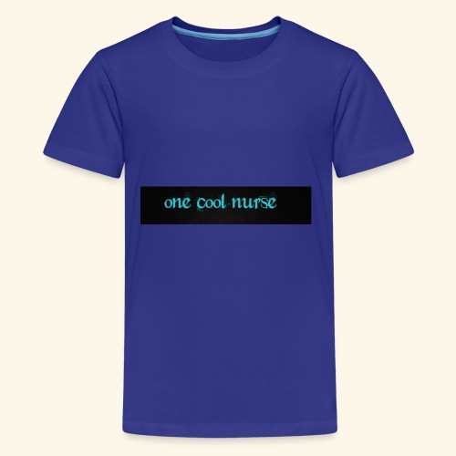 One cool nurse. - Kids' Premium T-Shirt