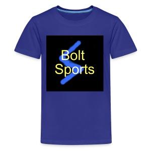Bolt Sports Black ! Collection - Kids' Premium T-Shirt