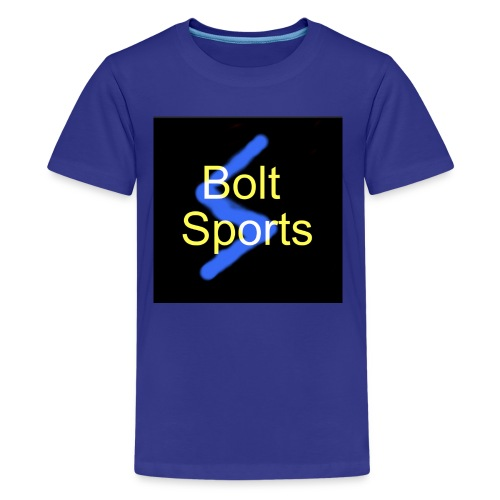 Bolt Sports Black ! Collection - Kids' Premium T-Shirt