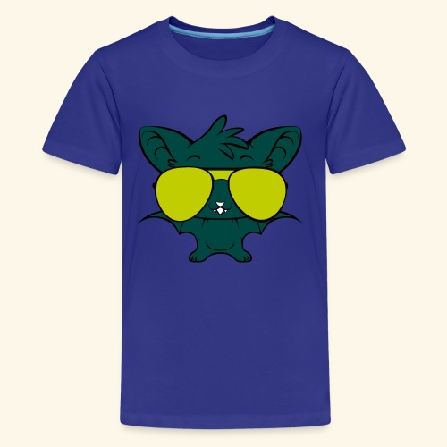 hip hop bats - Kids' Premium T-Shirt