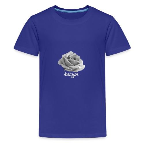 Kaizyn Rose Logo - Kids' Premium T-Shirt