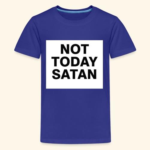 Big Block Not Today Satan Shirts - Kids' Premium T-Shirt