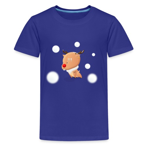 Reindeer of Christmas - Kids' Premium T-Shirt