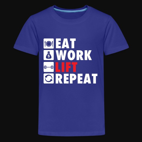 Gym Rat Life Style - Kids' Premium T-Shirt