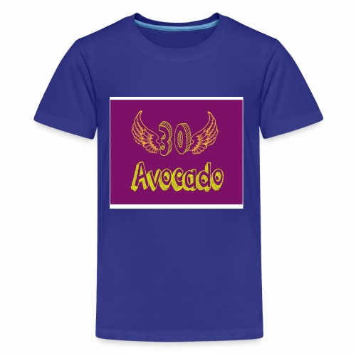 Thirdy Avocado logo - Kids' Premium T-Shirt