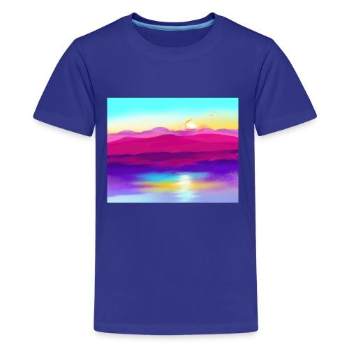 Colorful Nature - Kids' Premium T-Shirt