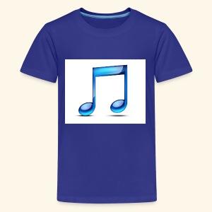 music note icon - Kids' Premium T-Shirt