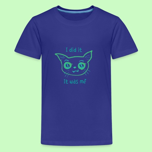I did it - Kids' Premium T-Shirt