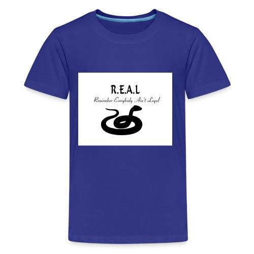 R.E.A.L Snake - Kids' Premium T-Shirt