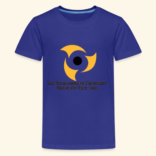 Official Blue Color Apparel Waupun's Very Own IBN - Kids' Premium T-Shirt