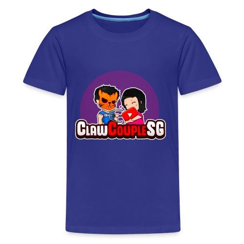 ClawCouple Mascot - Kids' Premium T-Shirt