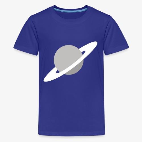 Saturn Out Color - Kids' Premium T-Shirt