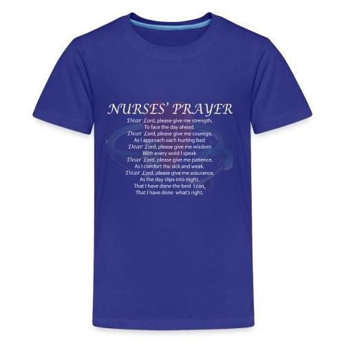 NURSES' PRAYER - Kids' Premium T-Shirt