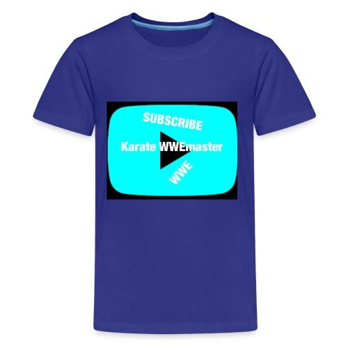 CA7FA855 E1DF 4A7A A1D5 5AE4FFC61AA3 - Kids' Premium T-Shirt