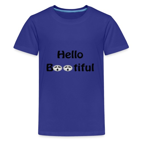 Hello Bootiful - Kids' Premium T-Shirt