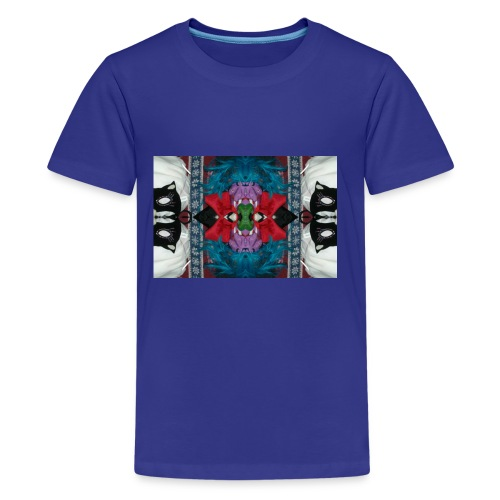 Funny yet eerie dracula hallucination - Kids' Premium T-Shirt
