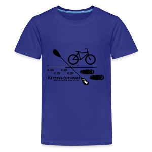 picture logo with .com - Kids' Premium T-Shirt