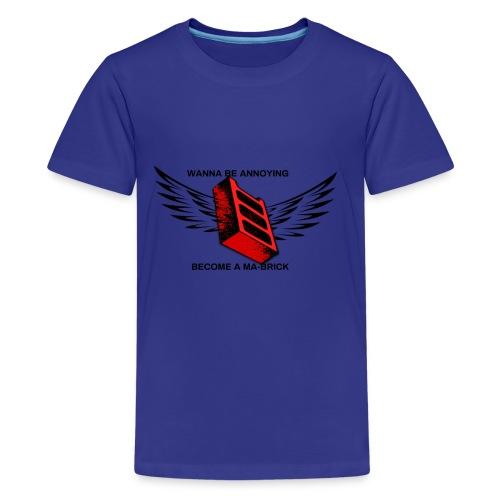 ma-brick parody merch - Kids' Premium T-Shirt