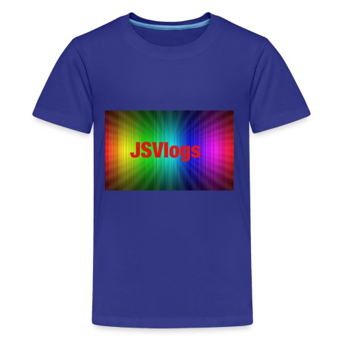 JSVlogs Channel Art - Kids' Premium T-Shirt