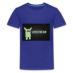 livve stream - Kids' Premium T-Shirt