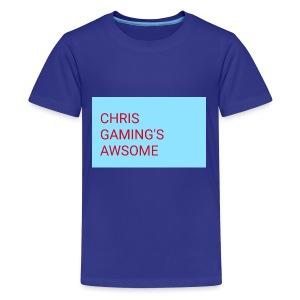 CHRIS GAMING'S AWSOME - Kids' Premium T-Shirt