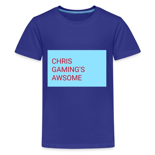 CHRIS GAMING'S AWSOME - Kids' Premium T-Shirt