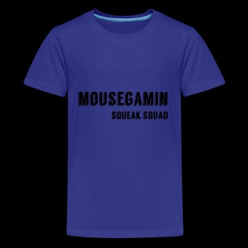 MouseGamin Secondary Logo - Kids' Premium T-Shirt