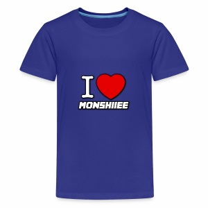 I LOVE MONSHIIEE - Kids' Premium T-Shirt