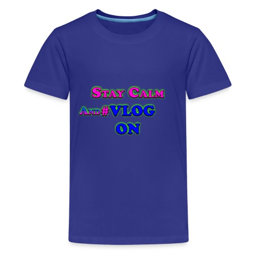 Vlog On - Kids' Premium T-Shirt
