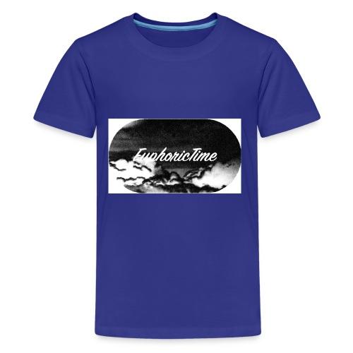 EuphoricTime Black & White - Kids' Premium T-Shirt