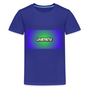 Cartoony Louisthetui Logo - Kids' Premium T-Shirt