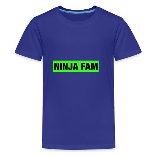 ninja fam box logo - Kids' Premium T-Shirt
