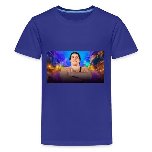 20180323 WM34 Andre b71fa58090ec0c4eae6348af96d20 - Kids' Premium T-Shirt