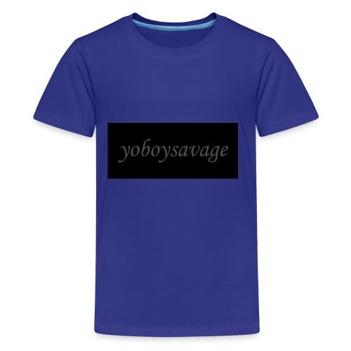 yoboysavagelogo - Kids' Premium T-Shirt