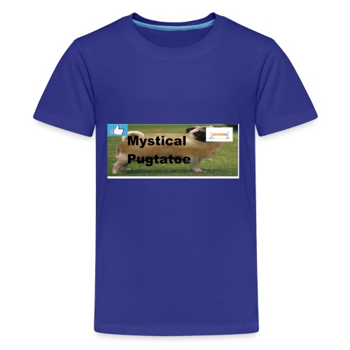 mystical pugtatoe symbol - Kids' Premium T-Shirt