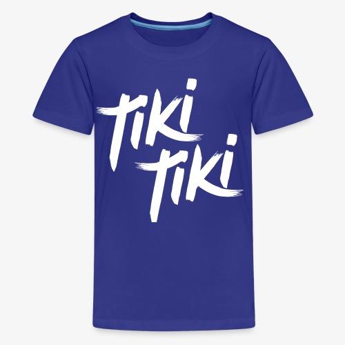 Tiki Tiki logo - Kids' Premium T-Shirt
