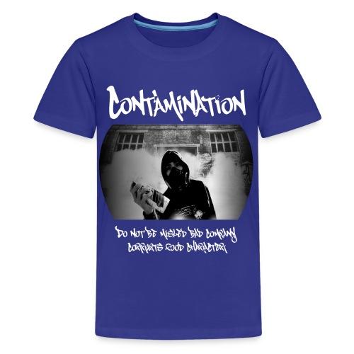 contamination front - Kids' Premium T-Shirt