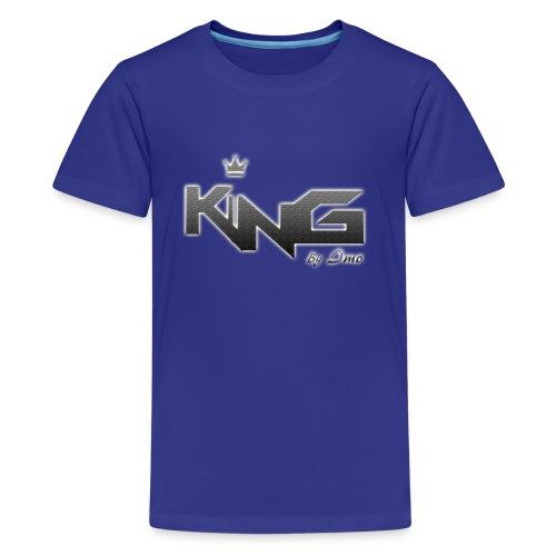 king logo v4 - Kids' Premium T-Shirt
