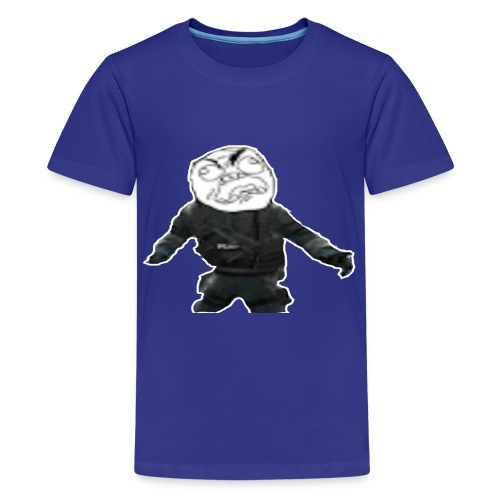 Stay Angry Logo - Kids' Premium T-Shirt