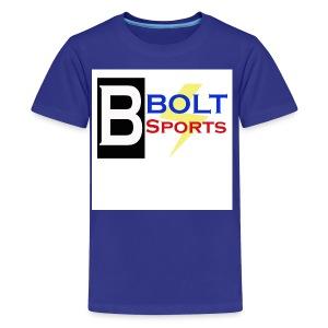 Bolt Sports 2nd Collection - Kids' Premium T-Shirt