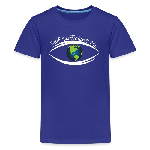 Self Sufficient Me Logo Large - Kids' Premium T-Shirt
