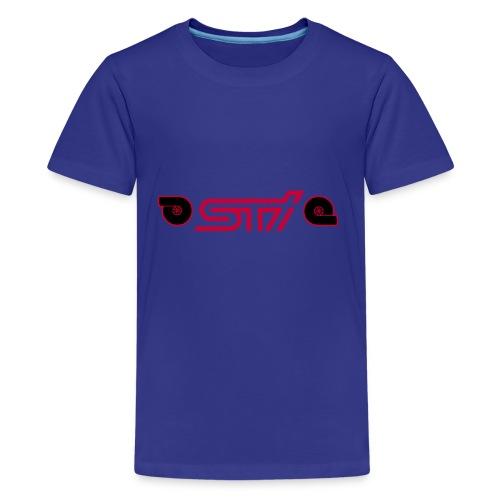 STI W/TURBO - Kids' Premium T-Shirt