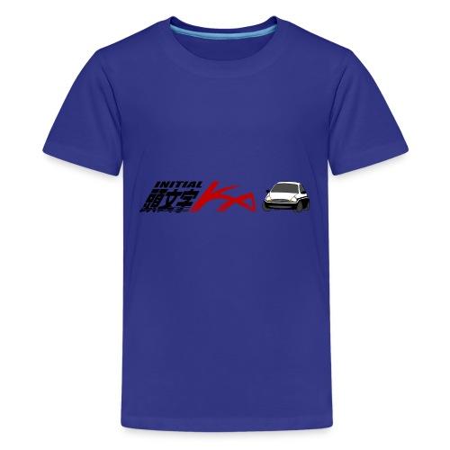 Initial Ka (Black writing) - Initial D parody - Kids' Premium T-Shirt