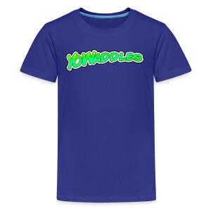 YoWaddles Logo - Kids' Premium T-Shirt